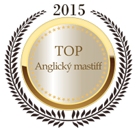 TOP Anglický mastiff 2015