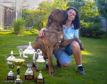 Klubový šampión CABAL NE-FI DOGS