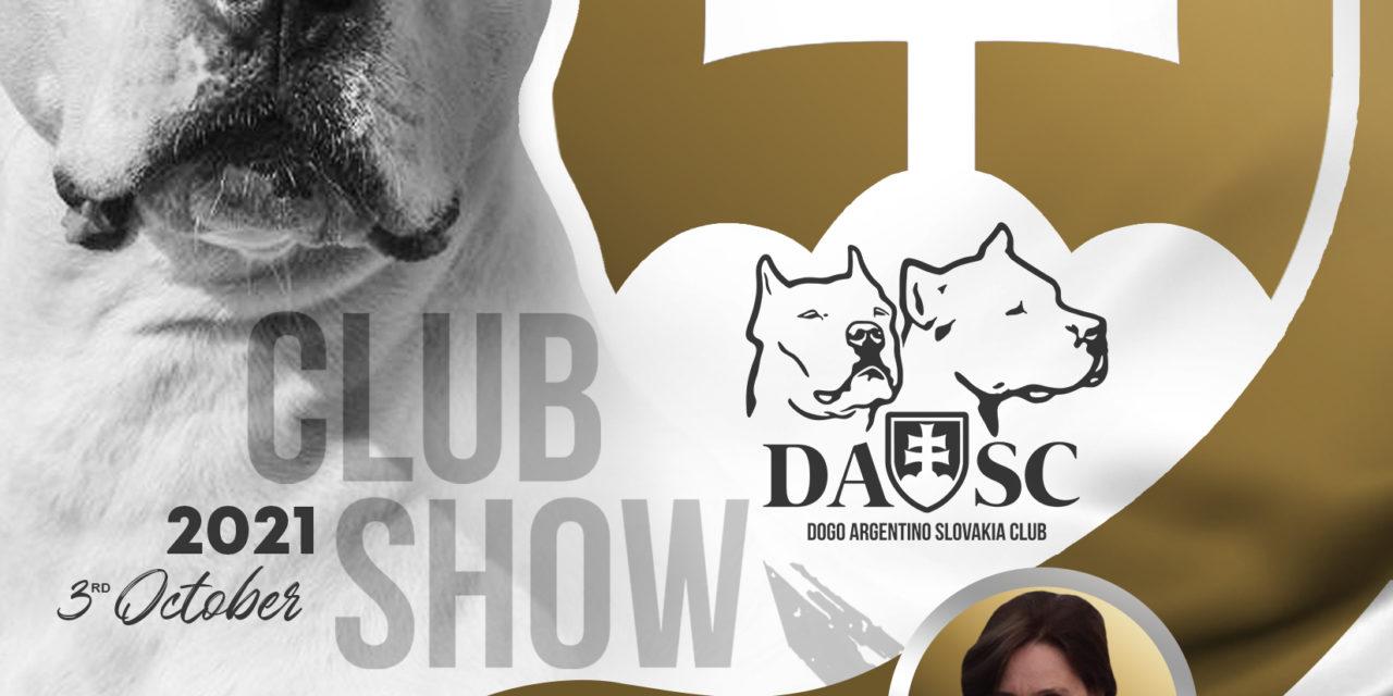 Štatistiky Klubovej výstavy 3.10.2021